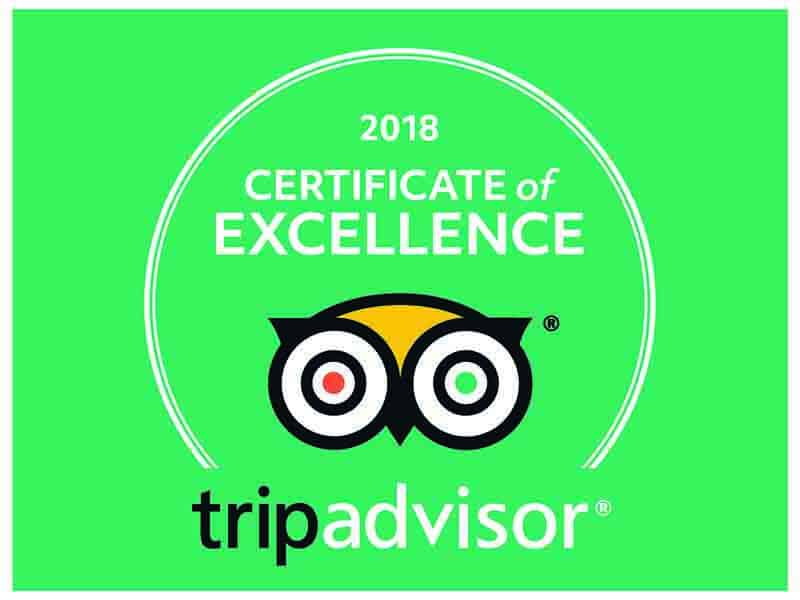 2018 Certificate of Excellence