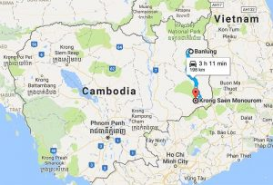 Travel from Ratanakiri to Mondulkiri